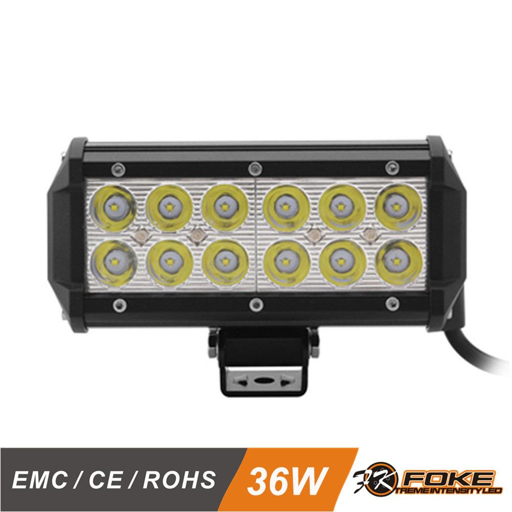 Cheap led light barsbest led offroad light bar 66 inch 36w spot beam atv led light bar mozeypictures Images